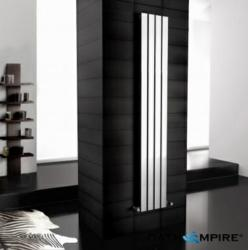 Chrome finish radiator, typical of BathEmpire modern design