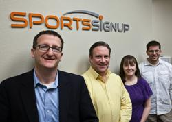 The SportsSignup Team in Mesa, AZ office
