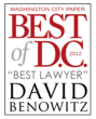 criminal defense lawyer, voted best lawyer in DC, criminal defense attorney