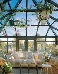 Four Seasons Georgian Conservatory - indoor sunroom garden
