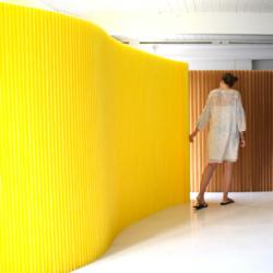 Design Studio Molo Creates Room Divider Sound System