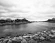 Newport, black and white photography, water photography