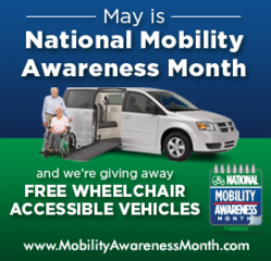 Advantage Mobility Outfitters in Wayne, Michigan, supports NMEDA's Mobility Awareness Month