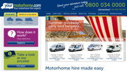 New motorhome hire company raises the bar for the industry