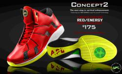 Athletic Propulsion Labs Launches Limited Edition APL Concept 2 Basketball Shoes in Red/Energy On Its Website and An Exclusive Pop-Up Store at The Men's Store at Saks Fifth Avenue Beverly Hills