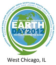 Sims Recycling Solutions to Attempt to Break a World Record at West Chicago Earth Day Electronics Recycling Event