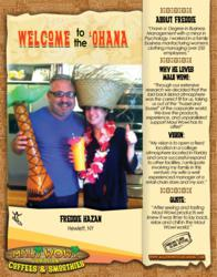 Maui Wowi Franchisee Freddie Hazan
