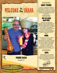 Maui Wowi Franchisee Freddie Hazan