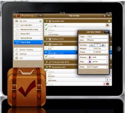 Packing Pro 8.0 on iPad