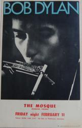Bob Dylan 1966 Richmond Mosque Concert Poster