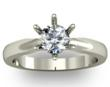 Six Claw Tiffany Style Diamond Engagement Ring