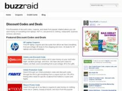Buzzraid.com Website