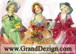 Large Selelection of Royal Doulton Figurines at Discount Prices www.GrandDezign.com