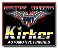 Kirker Automotive and Hardcore Choppers Logos