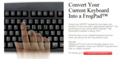 Magic,  frogpad, left handed keyboard, right handed, one handed, QFrog