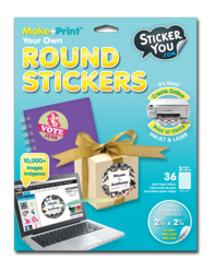 Personalize your notebook, homemade gifts, office supplies and all your stuff with our Award Winning online Sticker Maker.
