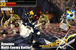 Unreal 3 Engine based 3D Action RPG: Brandnew Boy for iOS