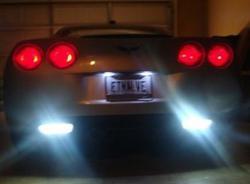 Corvette Reverse HID LED