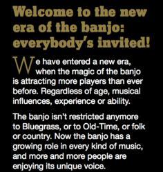 New Era of The Banjo campaign