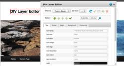 DIV Layer Editor WordPress Plugin