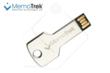 MemoTrek™ MetalKey USB Flash Drive