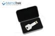 MetalKey USB Flash Drive in Elegant Metal Box