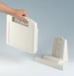 CARRYTEC plastic enclosures have optional desk and wall stations