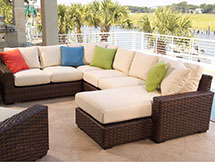 Lloyd Flanders Contempo Outdoor Sectional Sofa