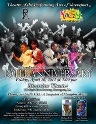 The official flyer for the 2012 Yazzy Youth Celebrating Jazz Concert