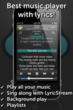 SongFreaks Lyrics Music Player for iPhone screenshot