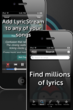 SongFreaks Lyrics Music Player for iPhone