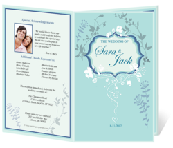 Beautiful Wedding Programs & Template Designs