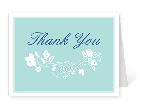 thank you note card template – Thank You Cards Wedding Template