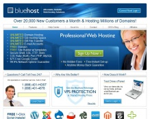 Bluehost 50% off from HostUCan.com