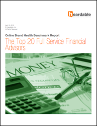 New Heardable Report: The Top 20 Full Service Financial Advisors Online