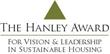 The Hanley Award for Vision and Leadership logo