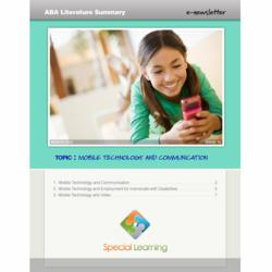 Special Learning ABA Literature Summary