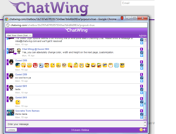 gI 91423 pr 61 chatwing Study: Chatwing Announces Support for Blog Marketing Effort