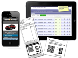 Liqueo Automotive QR Code Inventory and Marketing