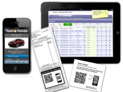 Liqueo Automotive QR Code Inventory and Marketing