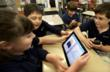 Fourth-graders team read Brush of Truth.