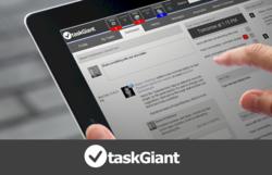 taskGiant on an iPad