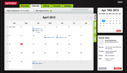 Setster Appointment Scheduling