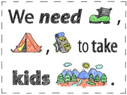 McNett, NCI, North Cascades Institute, gear locker, outdoor gear, kids outside, take a kid outside