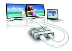 Matrox DualHead2Go Digital ME External Multi-Display Adapter