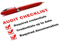 Audit Checklist for staffing compliance