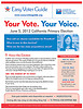 Easy Voter Guide Cover