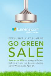 Go Green Lighting Sale at Lumens.com