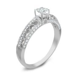 2 Carat Chocolate Diamond Engagement Ring Wedding Set on sale at JewelOcean.com