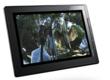 Lenovo ThinkPad tablet with movie running from Splasthop Remote Desktop HD